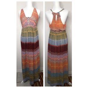 Soma Size Medium Boho Maxi Dress